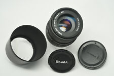 Sigma DC 55-200mm f4-5.6 zoOM for Canon AF  + Lens Hood & both Caps  Excellent