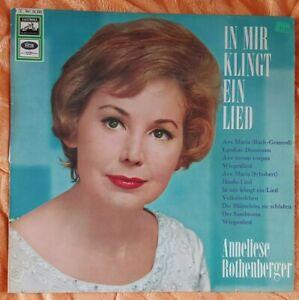 LP Vinyl Anneliese Rothenberger In mir klingt ein Lied  EMI Electrola     A