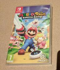 Mario + Rabbids: Kingdom Battle de Nintendo Switch (PAL) (NUEVO)