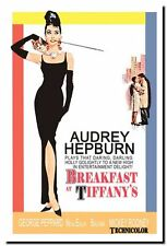 AUDREY HEPBURN Classic Vintage Movie Poster High Quality Canvas Art Print  A2