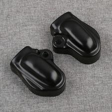 Pair Bar & Shield Rear Axle Covers For Harley V-Rod Muscle VRSCAW VRSCA VRSCR