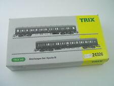Trix DR Compartment Car Set Ref. 24326 - HO Gauge