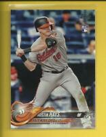Austin Hays RC 2018 Topps Series 1 Rookie Card # 62  Baltimore Orioles MLB