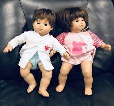 American Girl Bitty Baby 2 Brunette Twins Doll Toys Boy Girl Short Hair Cute Fun