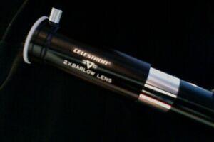 """Celestron / Vixen - """"2 X Barlow Lens / Deluxe"""" (.965) - # 93505  (Vintage)"""