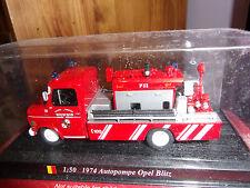 del PRADO Vigili del fuoco del Mondo OPEL Blitz Pumper NUOVO SS BLISTER