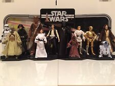 """Star Wars 40th Anniversary 6"""" 12 Figure Complete Set Wave 1 + 2 R2D2 Han Solo"""