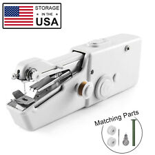 Mini Portable Smart Electric Tailor Stitch Hand-held Sewing Machine Charger US