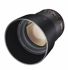 Samyang 85mm F1.4 AS IF UMC f. Olympus / Panasonic MFT ! 85 mm ! Micro 4/3