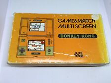 Nintendo Game&Watch Donkey Kong I Only Box
