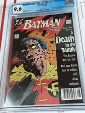 Batman #428 CGC 9.6 Death of Jason Todd ONE OF THE MOST SOUGHT AFTER BOOKS nice