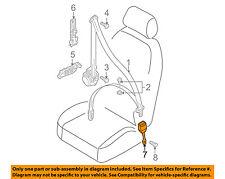AUDI OEM 07-15 Q7 Front Seat Belt-Buckle End Left 4L0857755K01C