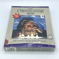 The Chessmaster 4000 (PC Game Windows 95 Edition) Big Box Brand New Sealed