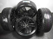"New 22"" Overfinch Range Rover / Sport Alloy Wheels & Tyres * Piano Gloss Black"