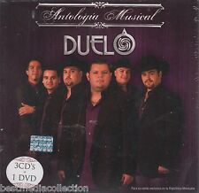 Duelo CD NEW Antologia Musical Con 3 CD's y 1 DVD 60 Exitos 23 Videos SEALED