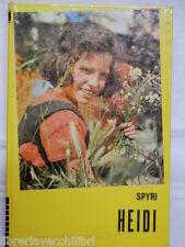 HEIDI Johanna Spyri Paoline La 500 EP 40 1973 Lamberto Lombardi romanzo ragazzi