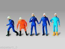 Vollmer H0 Figurines Kit De Montage, Pompiers 1:87, Art. 2215