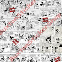 Sticker Bomb Sheets Micky Mouse Euro Drift Vinyl Decal Dub Disney Black&White