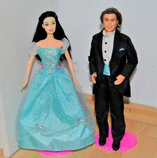 Barbie Snow White Schneewittchen in Fashion und Ken in Anzug