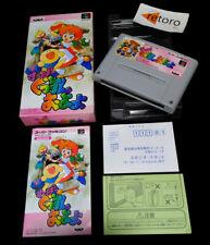 SUPER GUSSUN OYOYO Puzzle Park Super Famicom Nintendo SNES SFC JAP