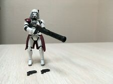STAR WARS THE CLONE WARS CW32 CLONE COMMANDER LIEUTENANT THIRE BACARA LOOSE NEW