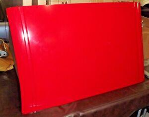 93-97 OEM Honda Del Sol EG2 SR2 exterior removable targa top open roof panel red