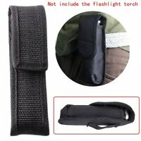 for Ultrafire LED Flashlight Torch Nylon Holster Holder Belt Case Pouch Bag