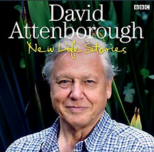 DAVID ATTENBOROUGH - NEW LIFE STORIES - 3 CD'S - BBC  AUDIO BOOK - NEW/SEALED