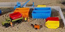 H0 Deko-Set Absetzcontainer, Modellwelten Bausatz 1:87, Kibri 38648