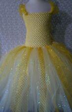 Little Girl tutu dress/ Belle/ Beauty and the beast/new-2T Tea calf length
