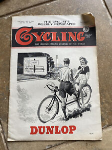 Vintage Cycling Weekly May 15th 1946 Newspaper Magazine #3565