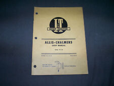 Vintage I&T Shop Service Manual No. AC-24 Allis Chalmers Model Series 170