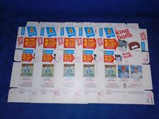 1975 HOSTESS KING DONS DAVE DAVEY LOPES COMPLETE BOX LOT OF 5 MINT *INV6378