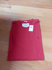 NWT Abercrombie & Fitch Moose Creek Tee Red Medium