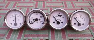 52 MM Electric Temperatur-Kraftstoffverstärker And Mechanical Öldruckmanome