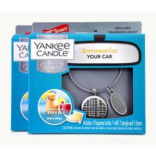 2 Yankee Candle Charming Scents Bahama Breeze Car Fragrance Locket