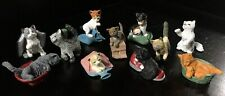 1994 M.E.G. INC. Kitty in my Pocket: Lot of 11 Generation 1/Year 1 PVC Figures