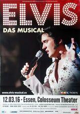 PRESLEY, ELVIS - 2016 - Plakat - Das Musical - Poster
