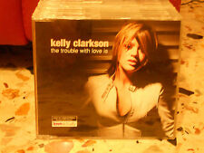KELLY CLARKSON - THE TROUBLE WITH LOVE IS album version 3,42 - cd slim cas PROMO