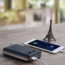 Bateria externa portatil 20000mah linterna Led Imuto 2 puertos USB