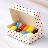 Eine Schachtel Donuts Essen Zubehör Spielzeug 1:12 Sell Puppenhaus Miniatur B0Z5