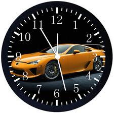 Lexus LFA Super Car Black Frame Wall Clock Nice For Decor or Gifts W188