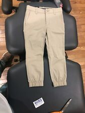 UNDER ARMOUR Boy's Tan Khaki Jogger Pants Size 4 NWT MSRP $50.00 FAST SHIP