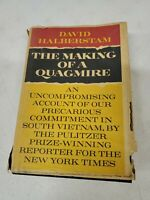 The Making of a Quagmire, David Halberstam, HC First Edition First Printing