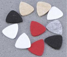 6 picks Wool Felt for ukulele mandolin, etc