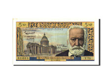 Billets, France, 5 Nouveaux Francs, 5 NF 1959-1965 ''Victor Hugo'' #210589