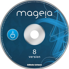 Mageia 8 Desktop 64bit Live Bootable DVD Rom Linux Operating System