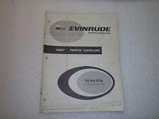 Evinrude Big Twin Parts Catalog 1967 40 HP number 4397