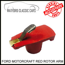 Red Rotor Arm for Reliant Scimitar V6 Essex with Motorcraft Distributor