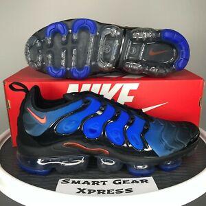 Nike Air VaporMax Plus Knicks Blue Black Crimson Sneakers Men's 12 DO6679-001